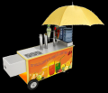 Ролл-бар для торговли напитками на улице